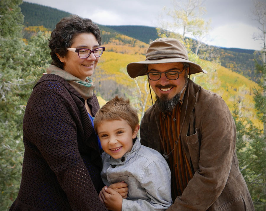 Leah, Benjamin, Canton @ Santa Fe Aspen Vista