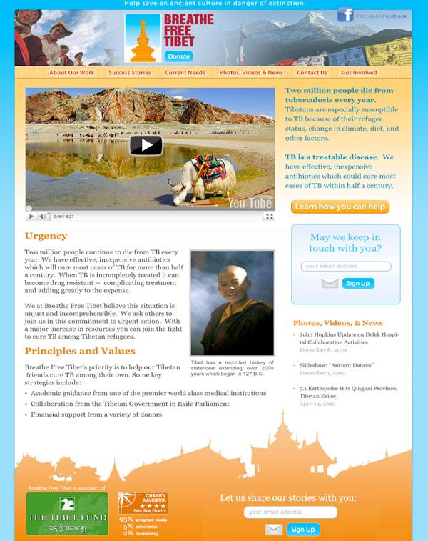 Breathe Free Tibet