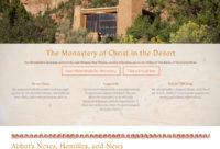 Christ in the Desert Monastery