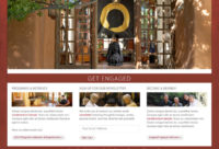 Website redesign for Upaya Zen Center, Santa Fe NM