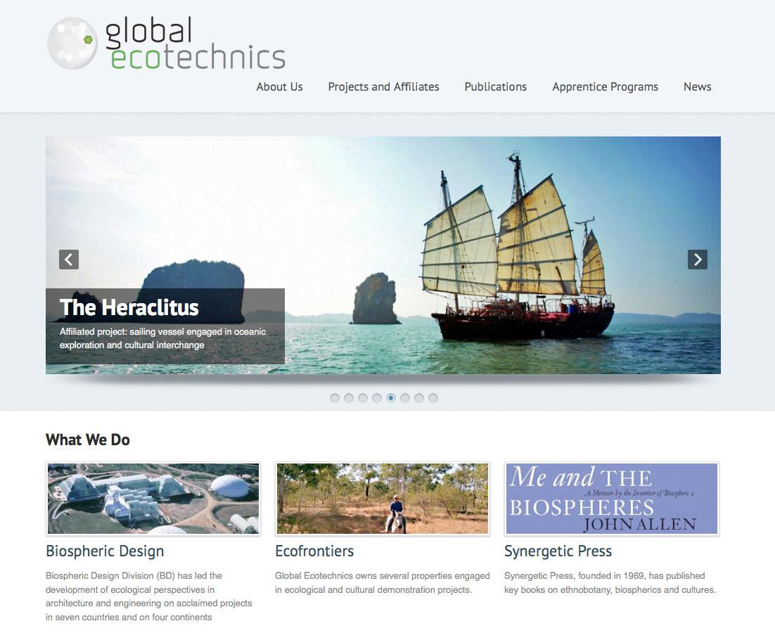 Redesign for Global Ecotechnics / Biosphere 2