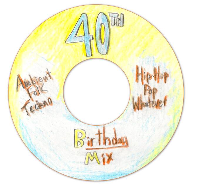 Canton's 40th Birthday Mixtape